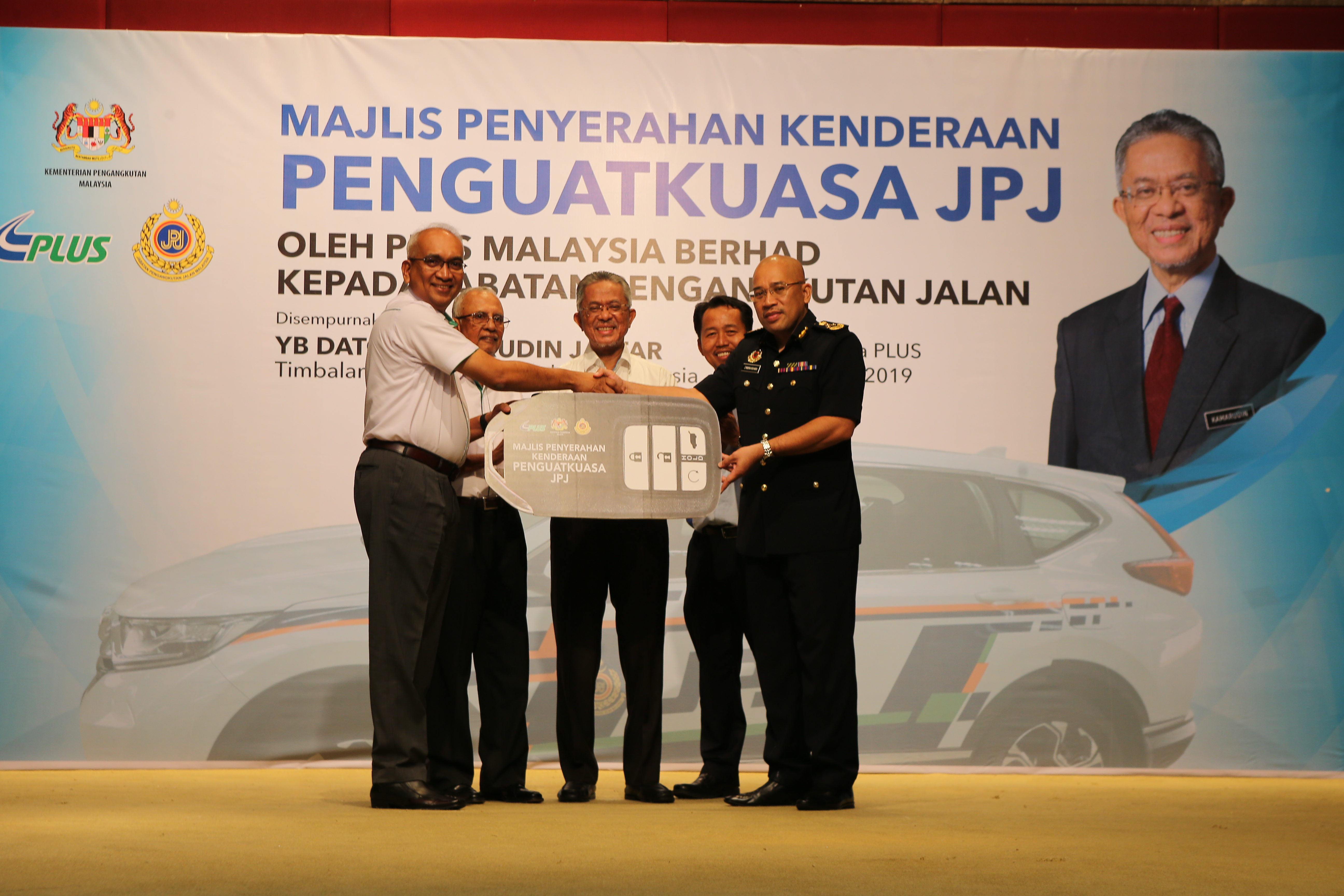PLUS HANDS OVER 10 ENFORCEMENT VEHICLES TO RTD TO ENHANCE HIGHWAY SAFETY
